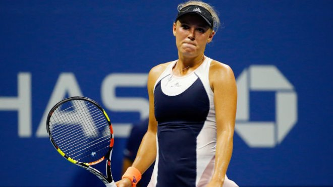Caroline Wozniacki was a beaten finalist at last year's US Open image: skysports.com