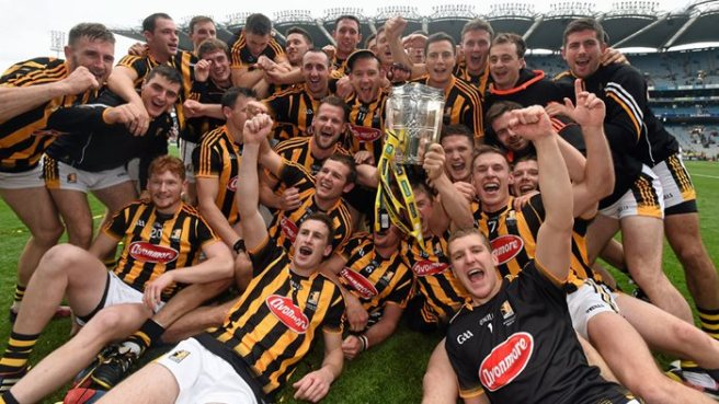 Kilkenny celebrate thier second consecutive All-Ireland crown image: utv.ie