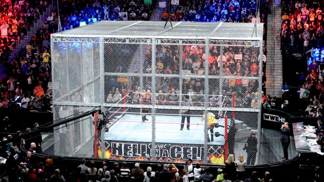 Brock Lesnar and Undertaker will enter Hell in a Cell next month image: forums.2k.com