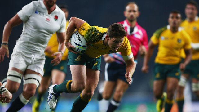 Hosts England crashed out after a 33-13 defeat by Australia image: rte.ie