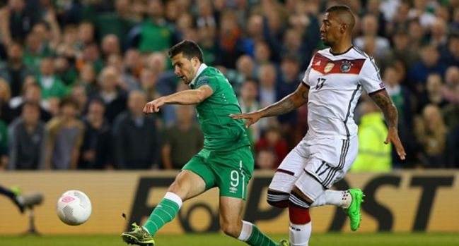 Ireland will need a repeat of thier performance against Germany to qualify for Euro 2016 image: joe.ie