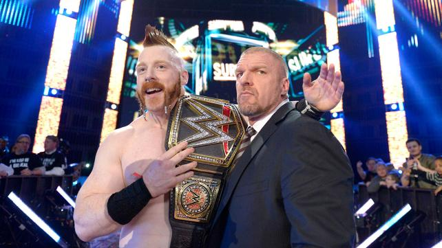 Sheamus is now a four time WWE World Heavyweight Champion image: wwe.com
