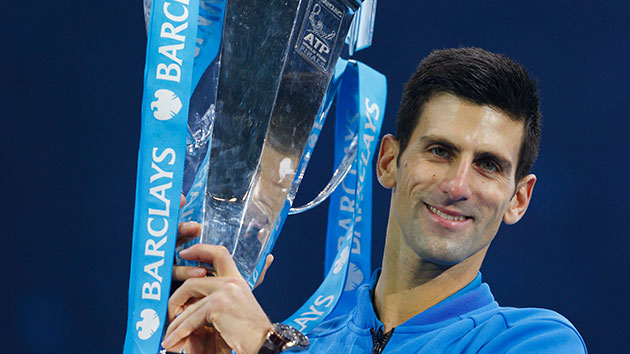 Novak Djokovic claimed his 11th title despite a loss earlier in the week image: abcnewsradioonline.com