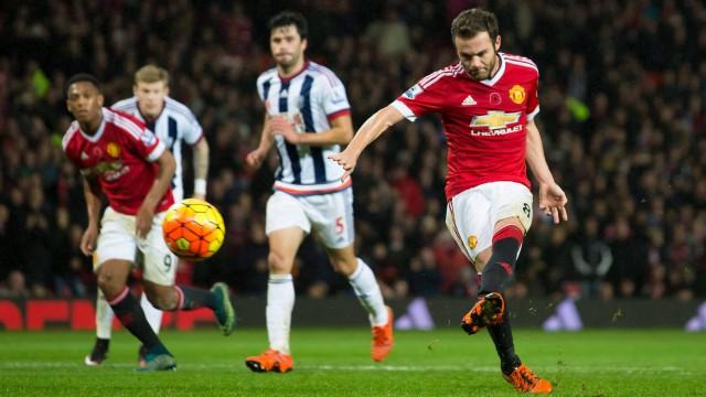 Juan Mata was on the scoresheet as Man United maintained their unbeaten home record this season image: latestcanada.com