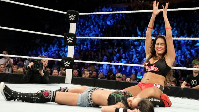 Nikki Bella would go on to hold the Divas Championship for ten months image: wwe.com