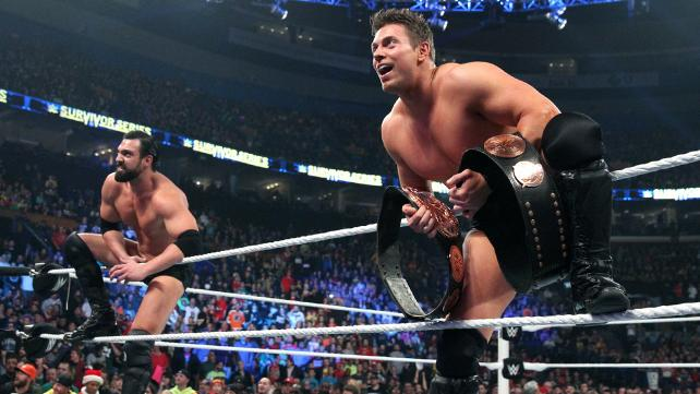Damien Mizdow won his first title in WWE with The Miz image: wwe.com