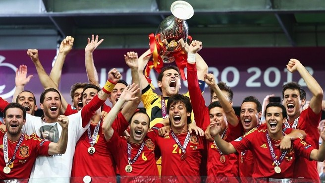 Spain have won the past two European Championships image: uefa.com
