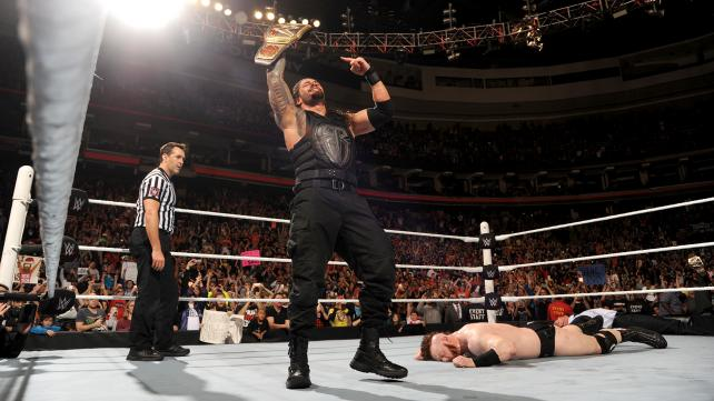 Roman Reigns is now a two-time WWE Champion image: wwe.com