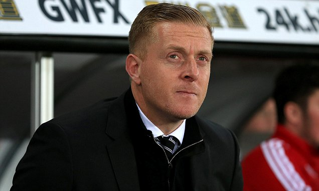 Garry Monk took over from Michael Laudrup in February 2014 image: dailymail.co.uk