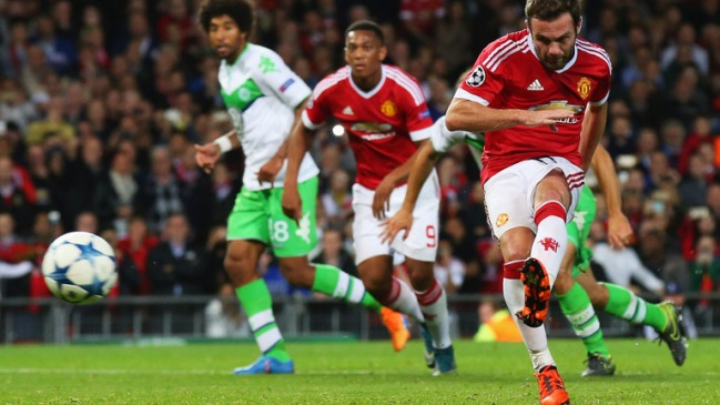 Man United came from behind to beat Wolfsburg 2-1 in the reverse fixture image: skysports.com