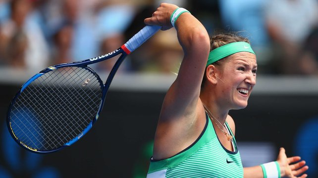 Viktoria Azarenka has dropped just theee games in two matches at this year's Aussie Open image: rte.ie
