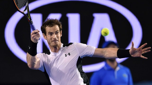 Andy Murray has reached his fifth Australian Open final image: rte.ie
