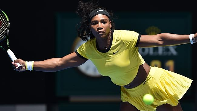 Serena Williams overcame a knee injury that ruled her out of last week's Hopman Cup image: brunchnews.com
