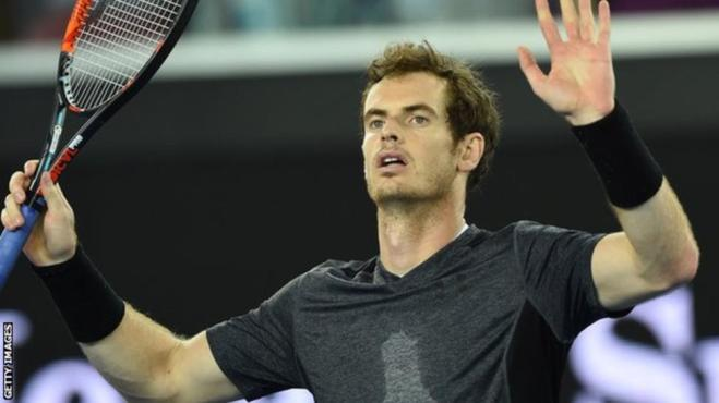 Andy Murray has never won the Aussie Open despite reaching the final four times image: bbc.com