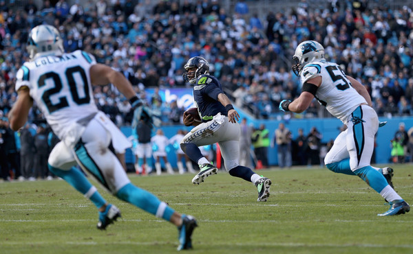 Carolina Panthers held a 31-0 lead at half-time over Seattle Seahawks image: zimbio.com