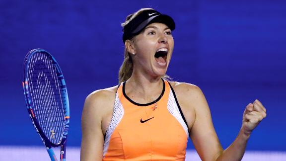 Maria Sharapova will now face Serena Williams in the quarter-finals image: 6abc.com