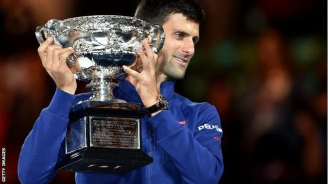 NOvak Djokovic has matched Rod Laver and Bjorn Borg with 11 grand slam titles image: bbc.com