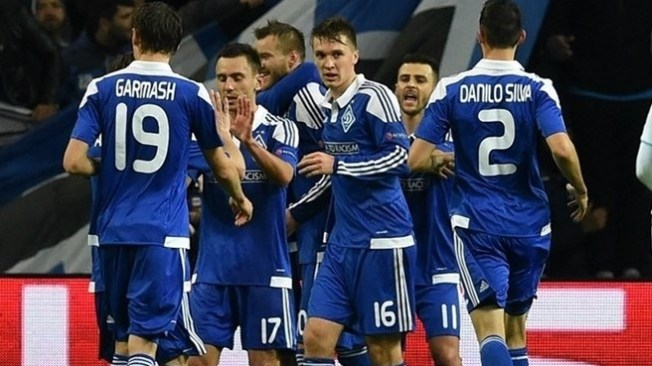 Dynamo Kiev last reached the last eight of the Champions League in 1999 image: uefa.com