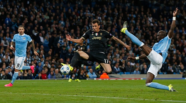 Man City were held to a home draw bY Juventus and lost in Turin image: theguardian.com