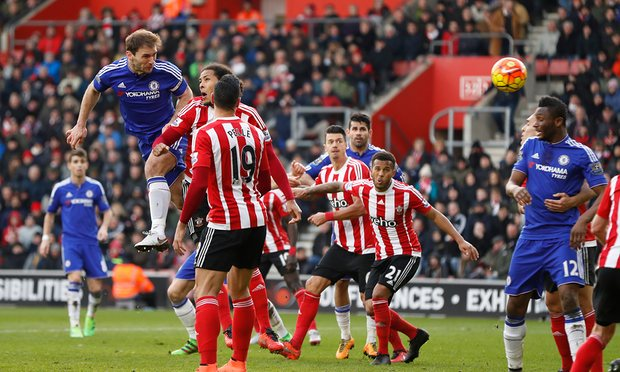 Chelsea's win at Southampton made it 11 league games unbeaten for the Blues image: theguardian.com