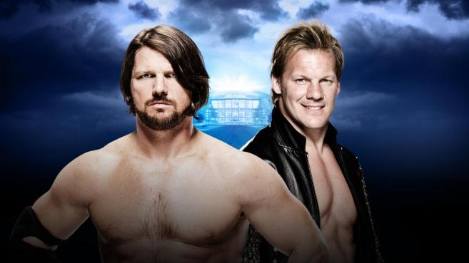 AJ Styles fights Chris Jericho on his WrestleMania debut image: wwe.com