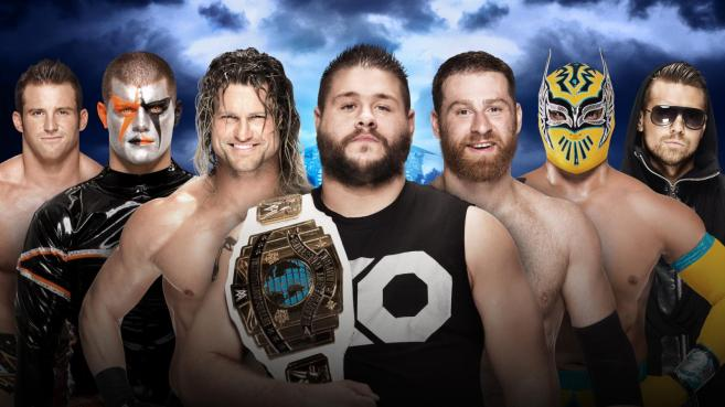 Kevin Owens defends the Intercontinental title against six other men image: wwe.com