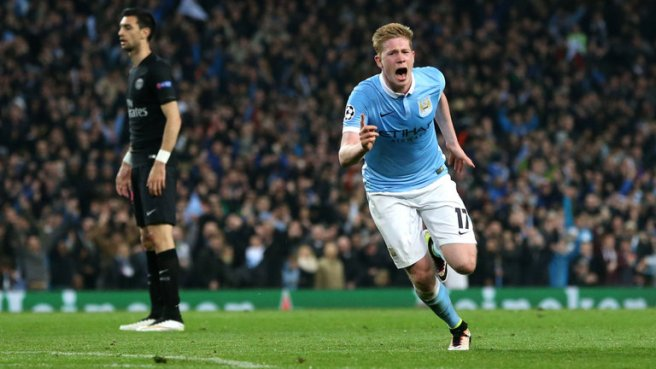 Kevin De Bruyne scored the only goal as Man City reached the semi-finals for the first time image: skysports.com