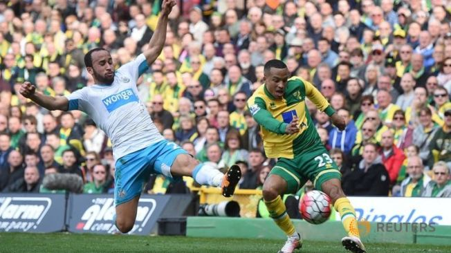 Marcus Olsson gave Norwich all three points against Newcatsle image: stepzean.com