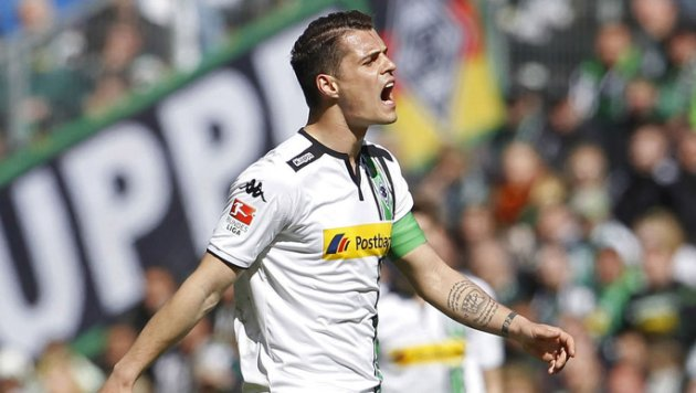 Granit Xhaka scored six goals in 108 Bundesliga apprearences image: uk.sports.yahoo.com