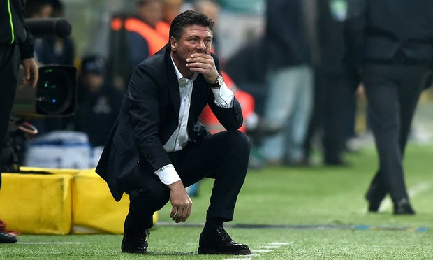 Walter Mazzarri becomes Watford's eighth manager in the past four years image: theguardian.com