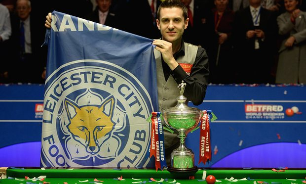 Mark Selby won his second World Championship in three years image: theguardian.com