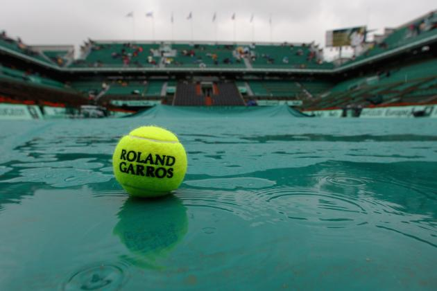 All play was suspeneed on day nine due to rain image: bbc.co.uk