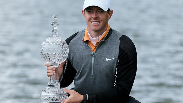 Rory McIlroy recovered a slow start in the final round to win the Irish Open image: bbc.com