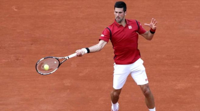 Novak Djokovic cruised into the last 16 with a straight sets victory over Aljaz Bedene image: latest--news-headlines.com