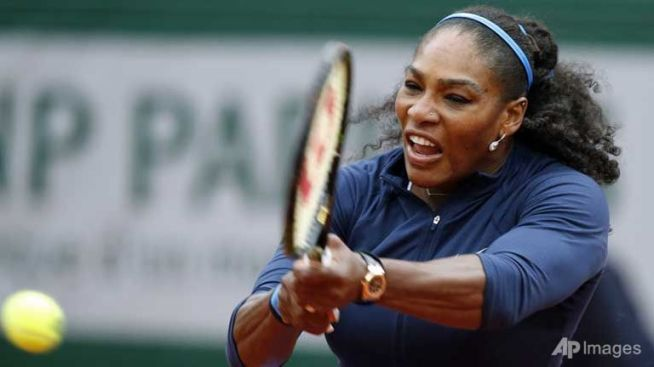 Serena Williams aims to retain her French Open title image: en.baomoi.com