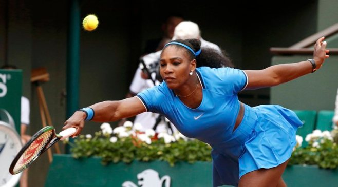 Serena Williams remains on course for a fourth French Open title image: latest--news-headlines.com