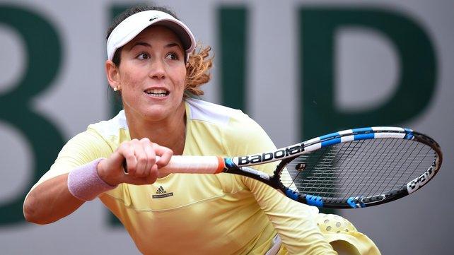 Garbine Murguruza will face Serena Williams in a repeat of last year's Wimbledon final image: rte.ie