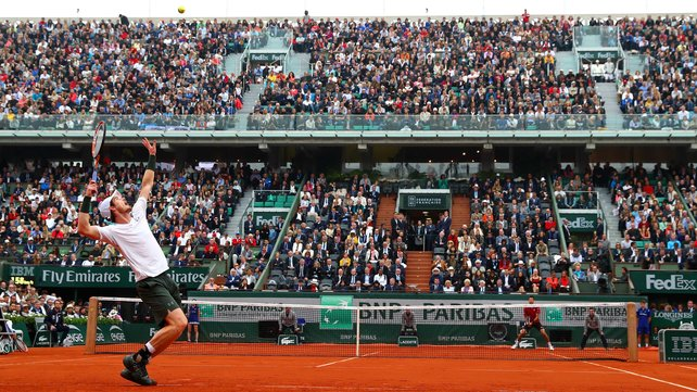 Andy Murray still waits for a third grand slam title image: rte.ie