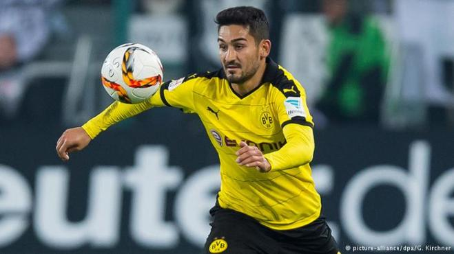 Ilkay Gundogan joins Man City for a reported £20m fee image: dw.com
