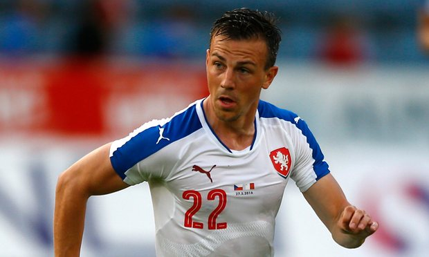 Vladimir Darida has made over 30 apprearnces for Czech Republic image: theguardian.com