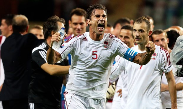 Lorik Cana has made over 80 appearences for his country image: theguardian.com