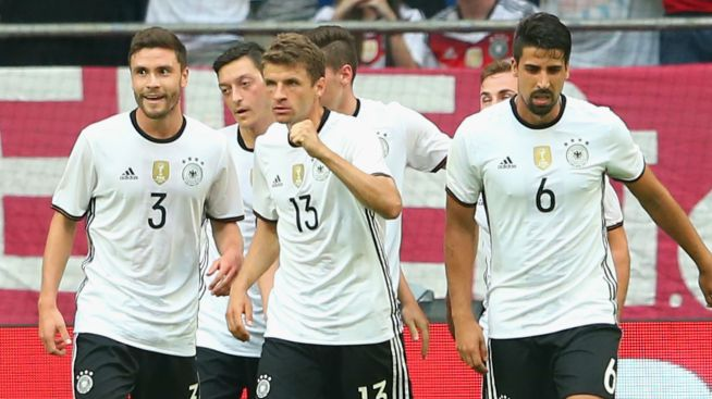 Germany aim to complete a world and European double image; goal.com