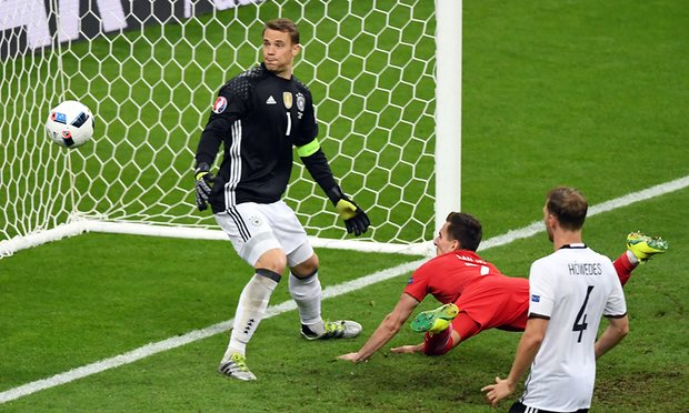 Poland held Germany to a scoreless draw image: theguardian.com