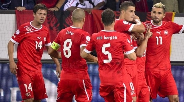 Switzerland look to make it out of the group for the first time image: ocnal.com