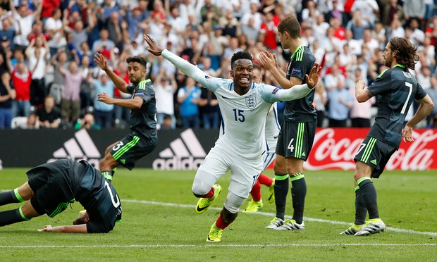 Daniel Sturridge scored a late winner against Wales image: theguardian.com