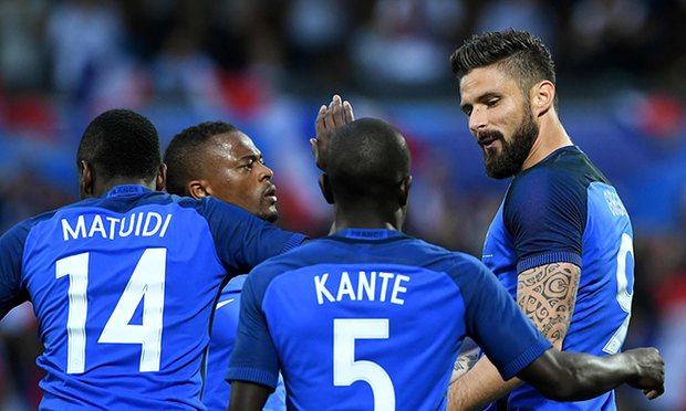 France have lost just one of their last ten games image: theguardian.com