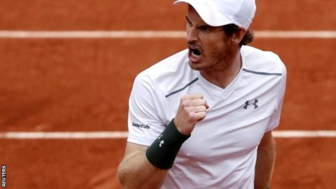 Andy Murray will face Novak Djokovic in Sunday's final image: bbc.com