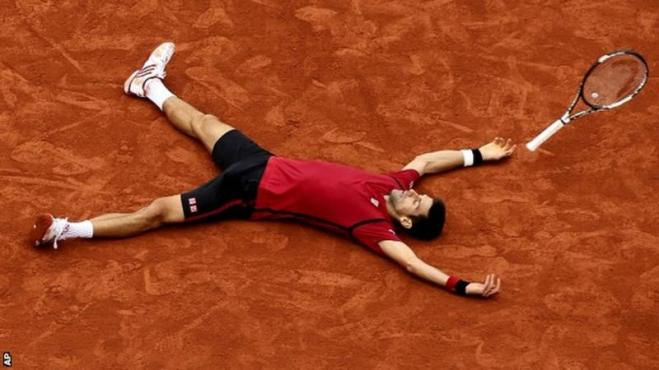 Novak Djokovic now holds all four major grand slam titles image: bbc.com