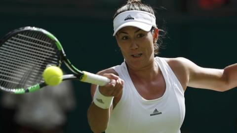 Garbine Muguruza fell to Serena Williams in the final at SW19 last year  image: bbc.com