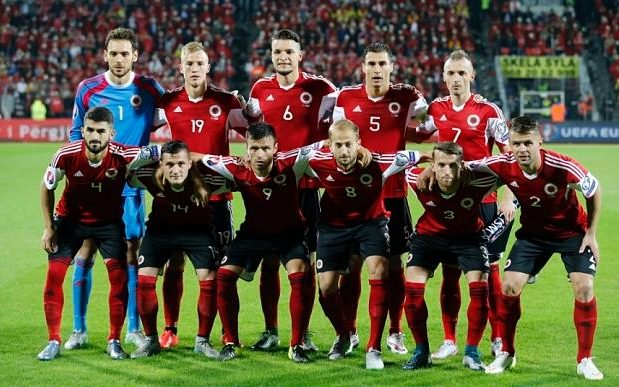 This is Albania's first ever appreance at a European Championship image: telegraph.co.uk